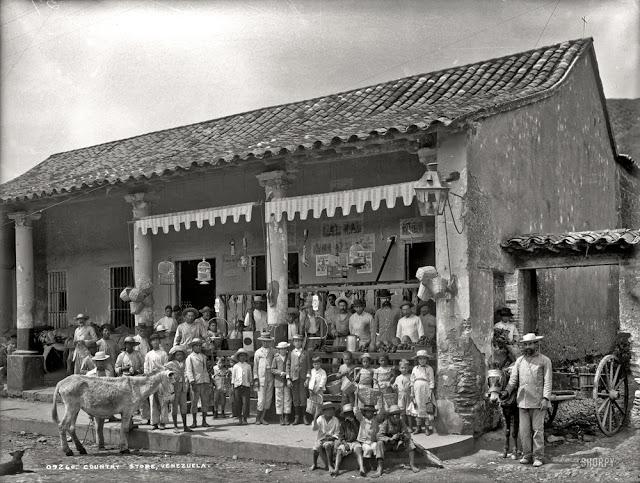 Una tienda en Venezuela, 1900.